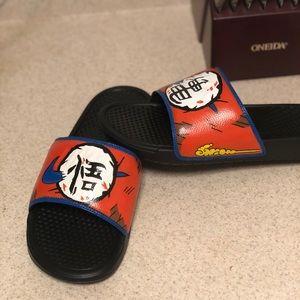 Custom Dragon Ball Z Nike Slides